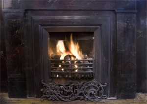 About antique cast iron fireplaces