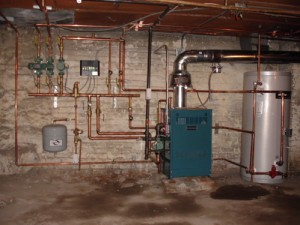 How to install a boiler heating system