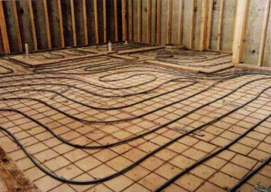 Installation costs for installing a radiant heat on concrete
