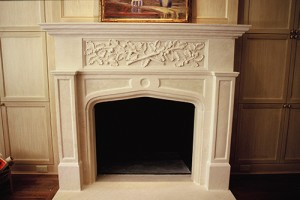 Fireplace, Limestone fireplaces