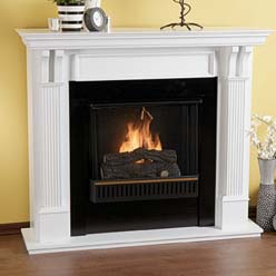 Fireplace, Ventless fireplaces