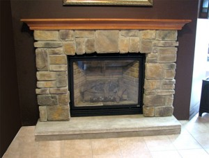 Building a fireplace mantel