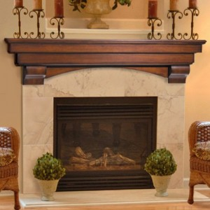 Mantel shelves for you fireplace