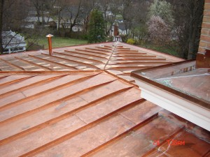 About copper roofs