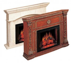 About fake fireplace mantels