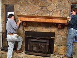 Mantel kits for din peis