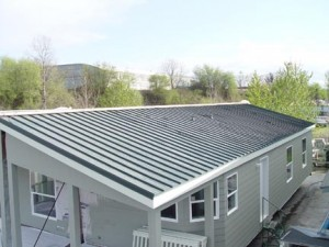 Roofing, Steel roof maintenance tips