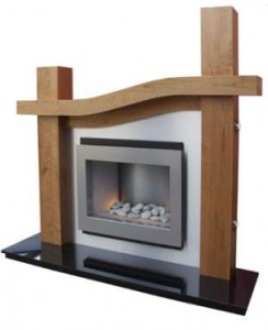 Mantels for gas fireplaces