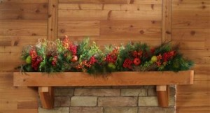 Rustic mantels for fireplaces