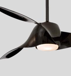 Como comprar um ventilador de teto preto
