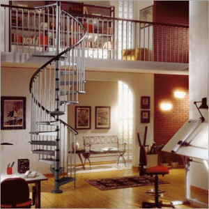 Choosing the right spiral staircase