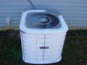 Why does an air conditioning unit freezes up?
