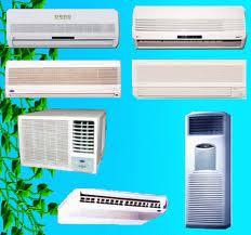 Typer av luftkonditioneringar