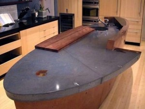 How to work with concrete counter-tops