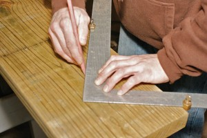 How to cut stair stringers