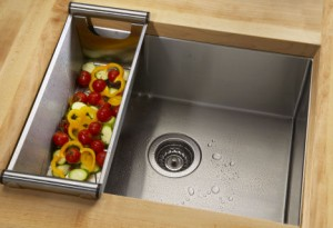 Installing under-mount kitchen sinks