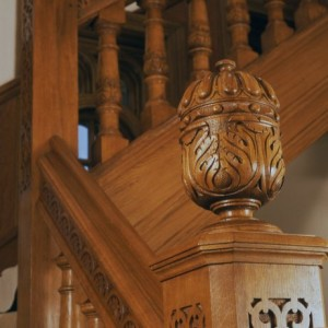 Choosing finials for staircase newel posts