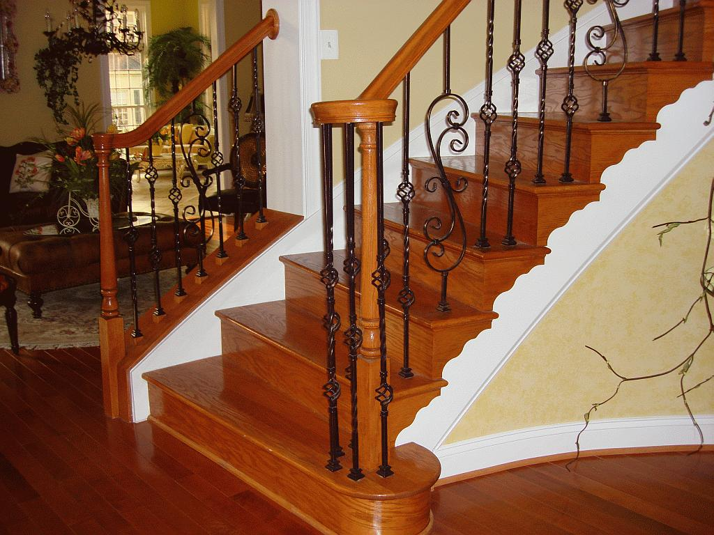 Building a hardwood staircase