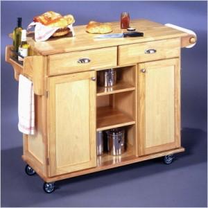 Å lage din egen kjøkkenøy handlevogn