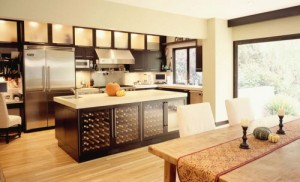 Tilpassede kjøkkenskap design
