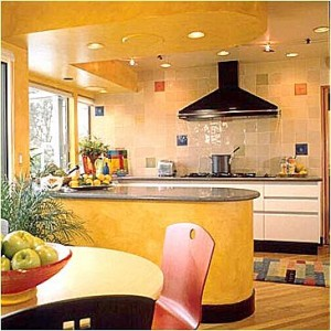 Der Entwurf einer neuen Küche