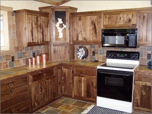 Armário de projetos da cozinha