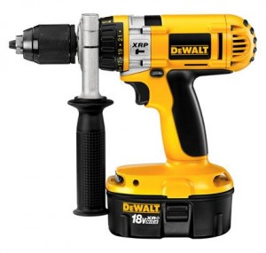 Over DeWalt 24V boormachine