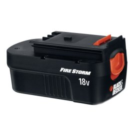 Over Black & Decker 18V accu's