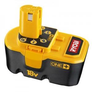 Las baterías de 18v herramientas Ryobi