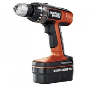Over Black & Decker 18v boormachine