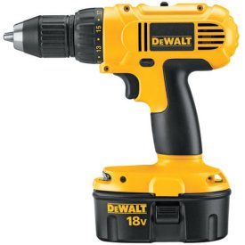 Over DeWalt 18V boormachine