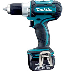 Om the Makita 14,4 borrmaskin