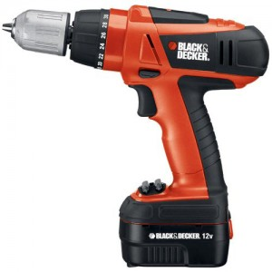 Over Black & Decker boormachines