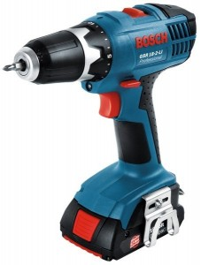 Over 18v Bosch boormachines