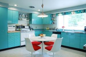 Retro mutfak yenileme