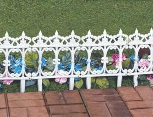Trädgård stängsel idéer