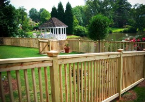 Fences, Repairing picket fences