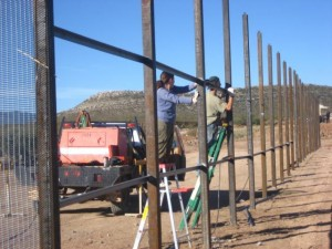 Installing Bamboo Fencing - Bamboo Fence Installation – How-To