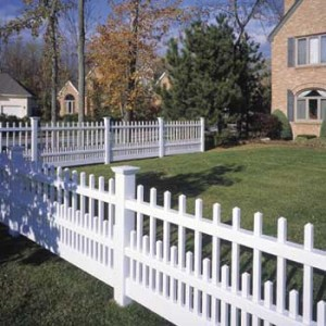 How to design a picket fence