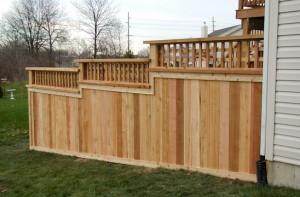 Building a privacy fence