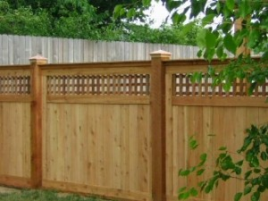 Designing a privacy fence