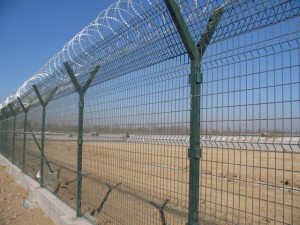 Dikenli tel çit