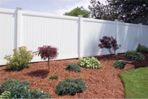 Construindo uma cerca do vinil