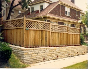 Designing a wood fence