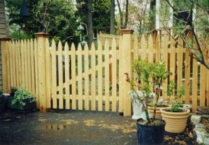 How to build and paint a picket fence