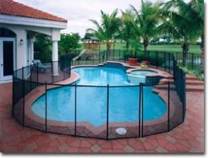 Barrière de la piscine