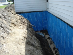 Exterior waterproofing costs