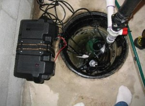 Batteri backup sump pumpe