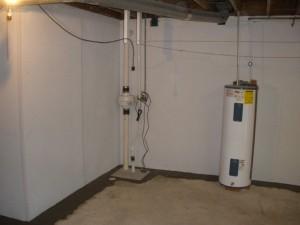Vedeneristys kellarissa käyttäen kiteistä kapillaari