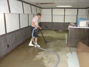 Las causas de la inundación del sótano